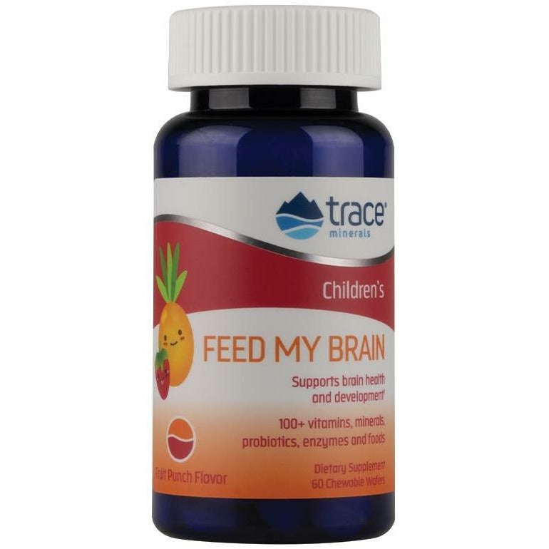 Trace Minerals Research, Feed My Brain for Children 60 wafers