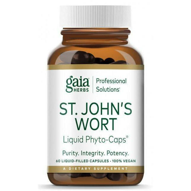 Gaia Herbs Professional Solutions, St. Johns Wort Pro 60 liquid phyto-caps