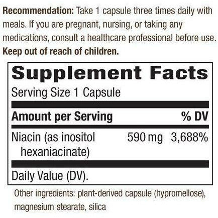 HexaNiacin Inositol Hexaniacinate  60 caps by Nature's Way