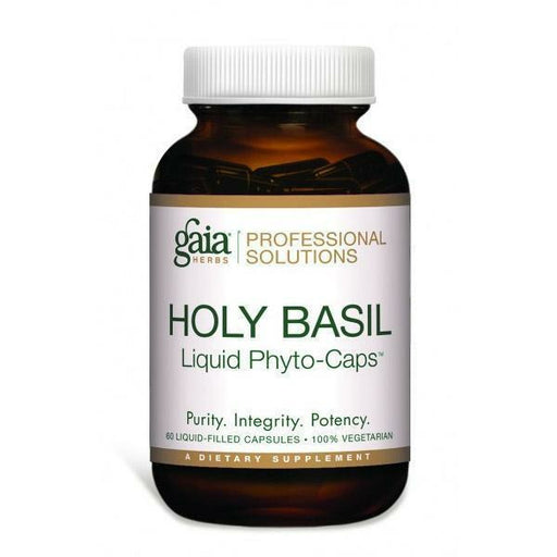 Gaia Herbs Professional Solutions, Holy Basil Pro 60 lvcaps