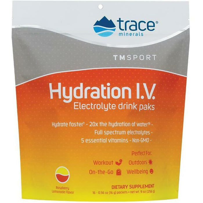 Trace Minerals Research, Hydration I.V. Elect Drink 16 pckts