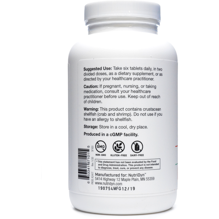 Injury & Surgical Support Formula 180 Tablets by Nutri-Dyn