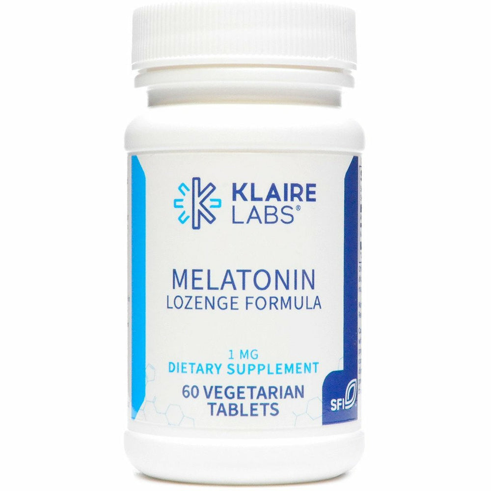 Klaire Labs, Melatonin Lozenge 1 mg 60 tabs