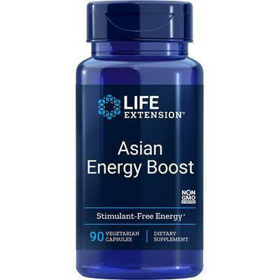 Life Extension, Asian Energy Boost 90 vcaps