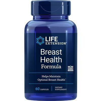 Life Extension, Breast Health Formula 60 vegcaps