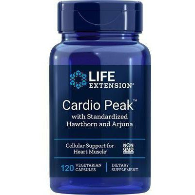 Life Extension, Cardio Peak 120 vcaps