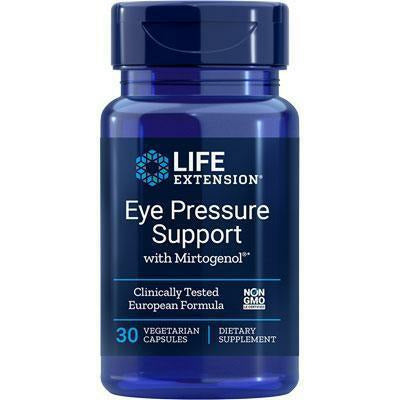 Life Extension, Eye Pressure Support 30 vcaps