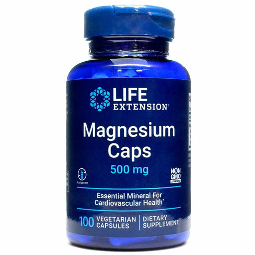 Life Extension,Magnesium 500mg 100 vegcaps