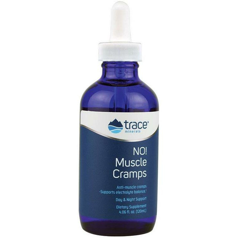 Trace Minerals Research, Liquid NO! Muscle Cramps 4.06 fl oz
