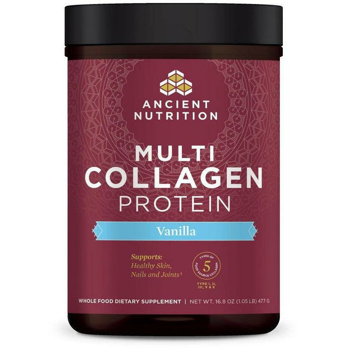 Ancient Nutrition, Multi Collagen Protein Powder (Vanilla)