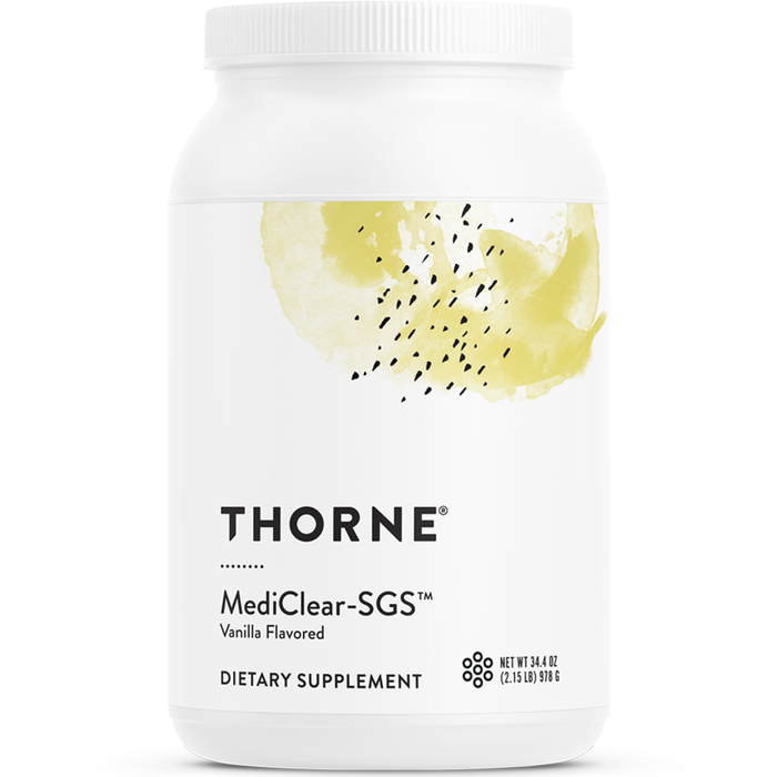 Thorne Research, MediClear-SGS Vanilla 34.4 oz