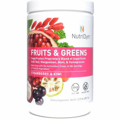 Nutri-Dyn Fruits & Greens Strawberry Kiwi (formerly Dynamic Fruits & Greens)