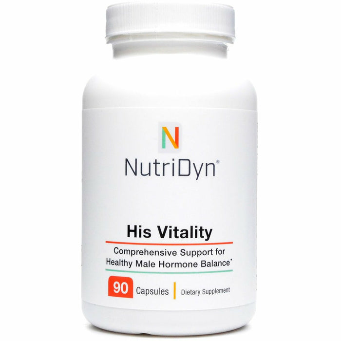 His Vitality 90 capsules by Nutri-Dyn