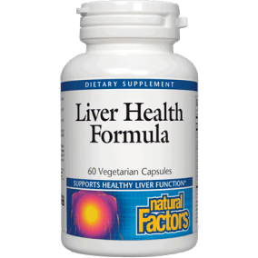 Liver Health Formula 60 caps by Natural Factors