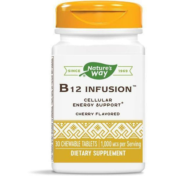 Nature's Way, B12 Infusion 30 chew