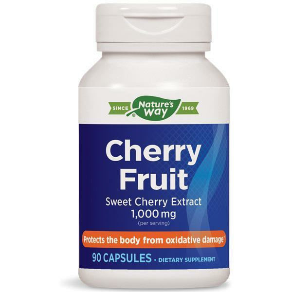Natures Way,  Cherry Fruit Extract 90 caps