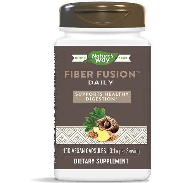 Natures Way, Fiber Fusion Plus 120 caps