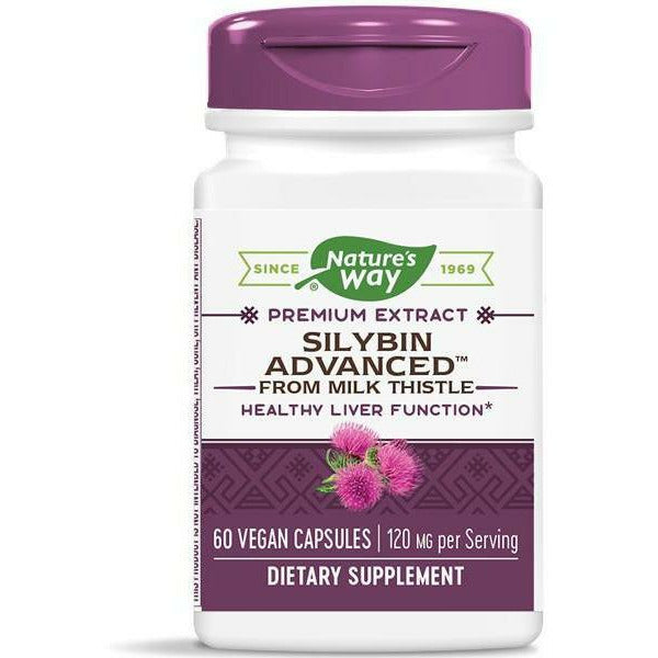 Natures Way, Silybin Advanced from Milk Thistle 60 vcaps