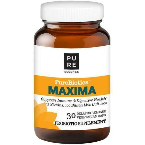 Pure Essence, PureBiotics Maxima Probiotic 30 Capsules