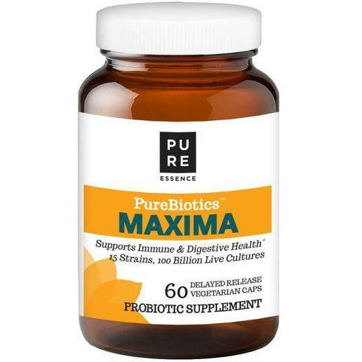 Pure Essence, PureBiotics Maxima Probiotic 60 Capsules