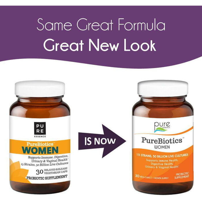 PureBiotics Probiotics for Women by Pure Essence