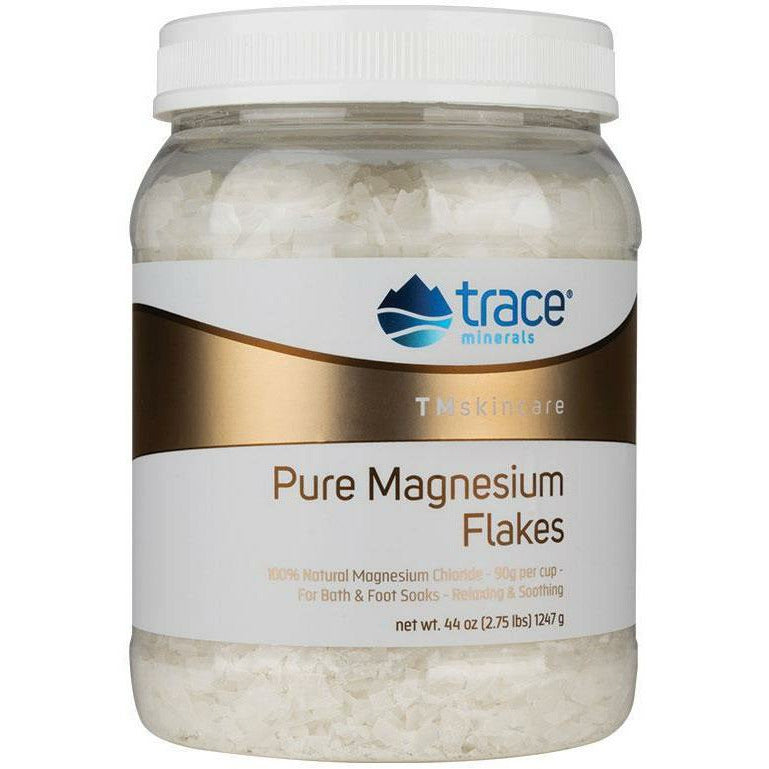 Trace Minerals Research, Pure Magnesium Flakes 44 oz