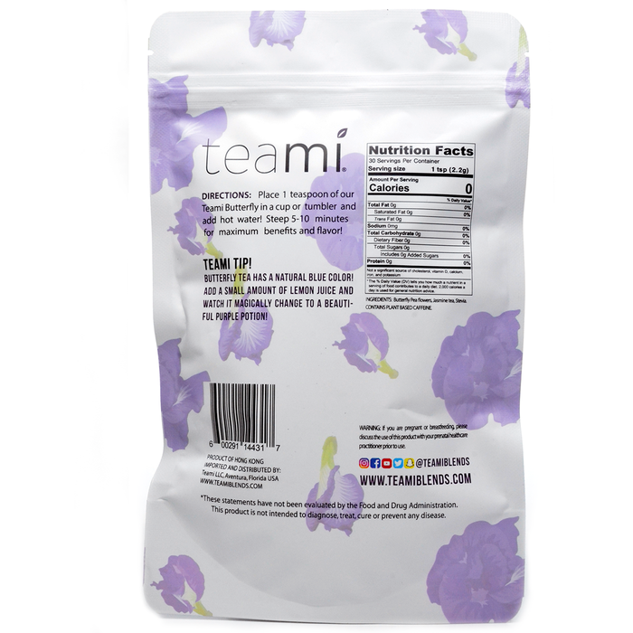 Butterfly Tea Blend 2.3 oz by Teami