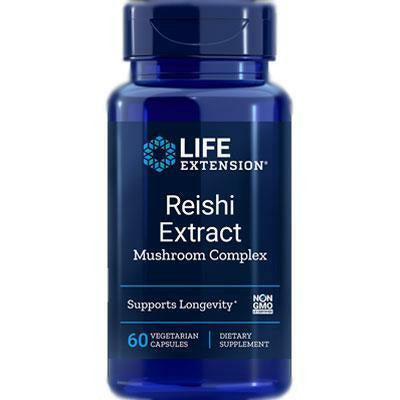 Life Extension, Reishi Extract 60 vcaps