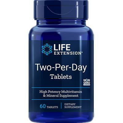 Life Extension, Two-Per-Day Tablets 60 tablets