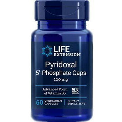 Life Extension, Pyridoxal-5-Phosphate 100mg 60vcaps