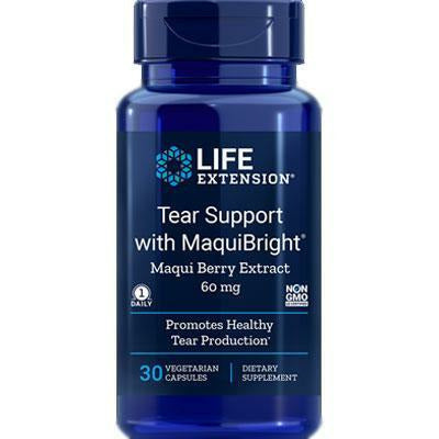 Life Extension, Tear Support w/Maquibright 30 vegcaps