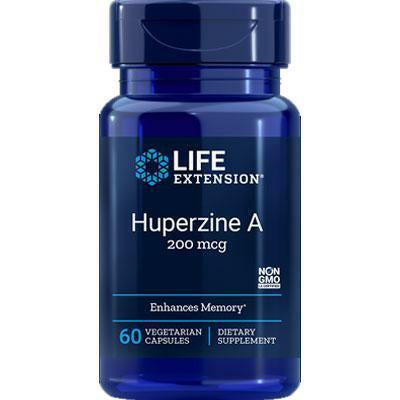 Life Extension, Huperzine A 60 vcaps