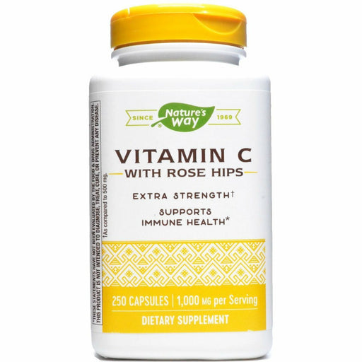 Vitamin C-1000 with Rose Hips 250 caps by Nature's Way