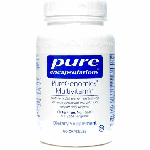PureGenomics Multivitamin 60 caps by Pure Encapsulations