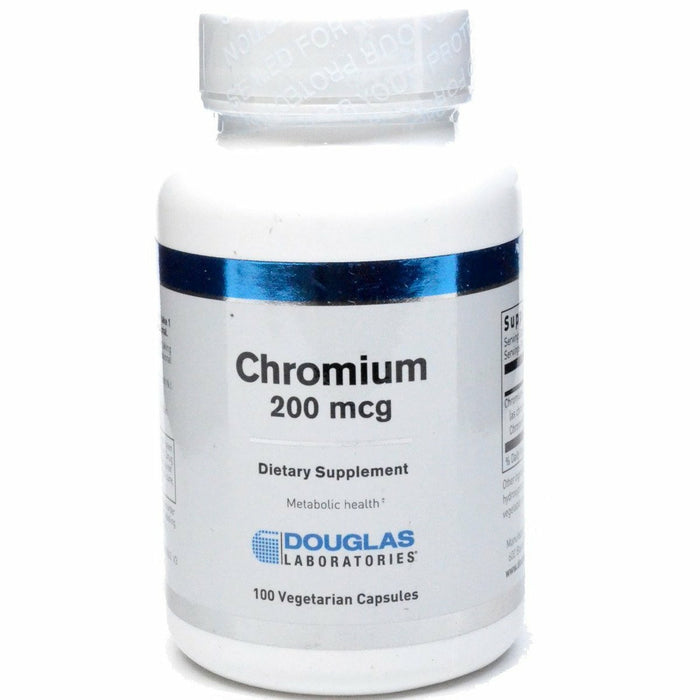 Chromium 200 mcg 100 vcaps by Douglas Labs