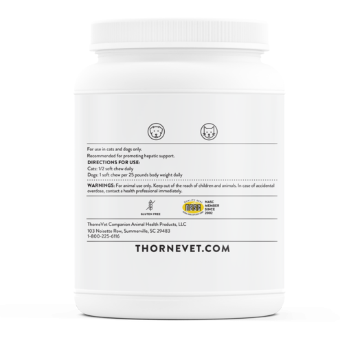 Hepagen 90 soft chews by Thorne Vet Suggested Use