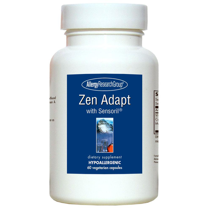 Zen Adapt with Sensoril 60 vcaps by Allergy Research Group