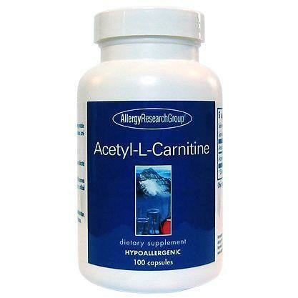 Acetyl-L-Carnitine 500 mg 100 caps