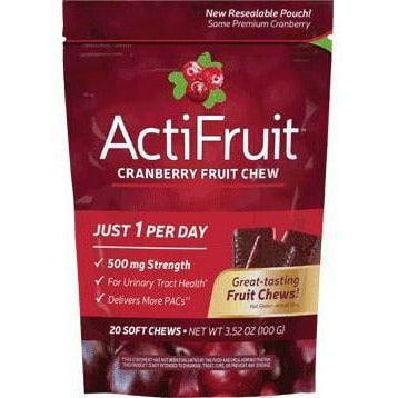 Enzymatic Therapy, ActiFruit with Cran-Max 20 chew