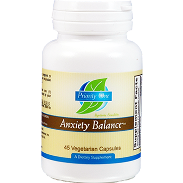 Priority One, Anxiety Balance 45 vcaps