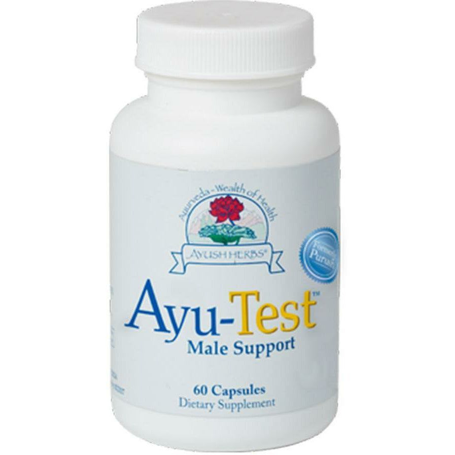 Ayush Herbs, Ayu-Test Male Support 60 vcaps