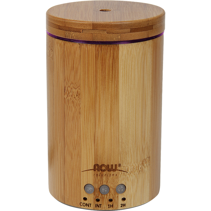 NOW, Ultrasonic Oil Diffuser Bamboo Wood