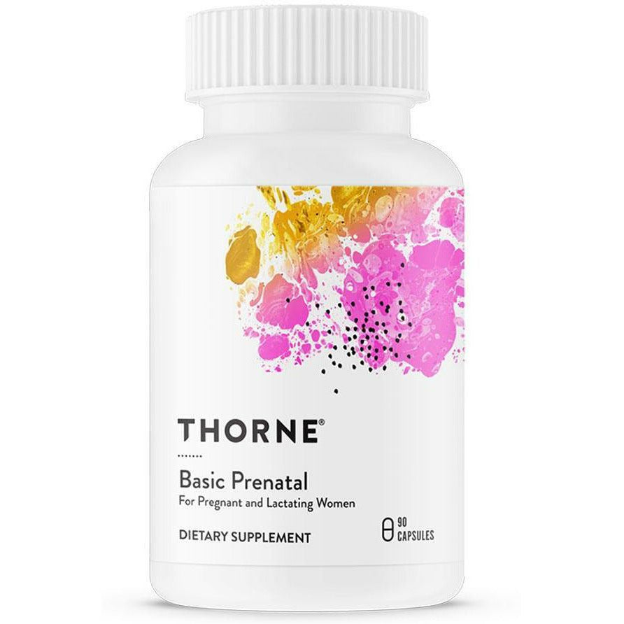 Thorne Research, Basic Prenatal 90 Vegetarian Capsules