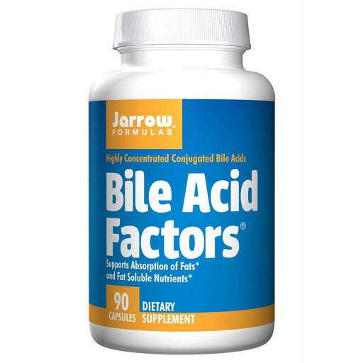 Jarrow Formulas, Bile Acid Factors 333 mg 90 caps