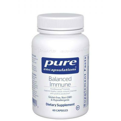 Pure Encapsulations, Balanced Immune 60 caps