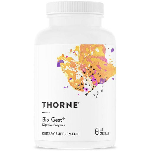 Thorne Research, Bio-Gest 180 Vegetarian Capsules