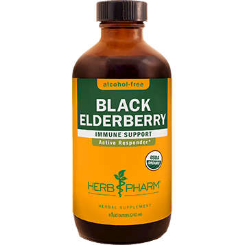 Herb Pharm, Black Elderberry Alcohol-Free 8 oz