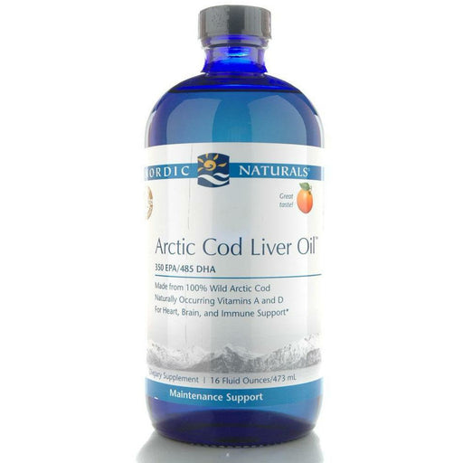 Nordic Naturals, Arctic Cod Liver Oil Orange 16 oz