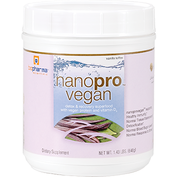 BioPharma Scientific, Nanopro Vegan 1.43 lb