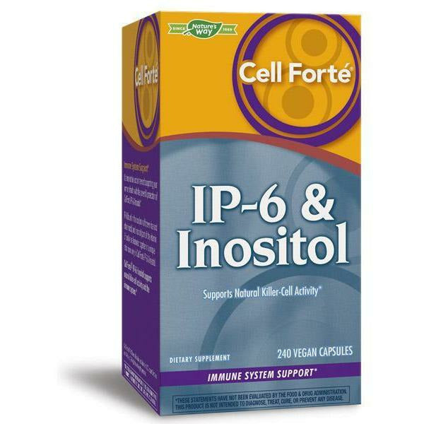 Nature's Way, Cell Forte IP-6 & Inositol 240 veg caps